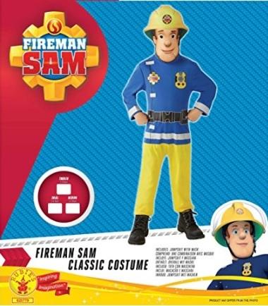 Costume per bambini deluxe di sam il pompiere