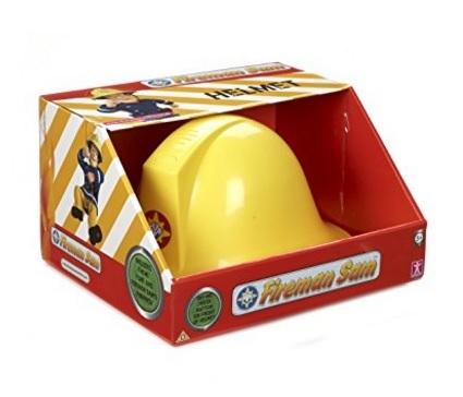 Cappello elmetto che emette suoni sam il pompiere