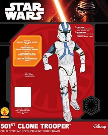 Costume Di Carnevale Da Clone Trooper Star Wars