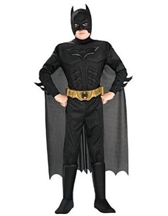 Costume di batman supereroe cavaliere oscuro carnevale