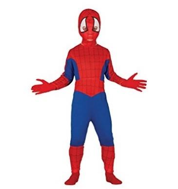 Costume intero dell'uomo ragno per bambini