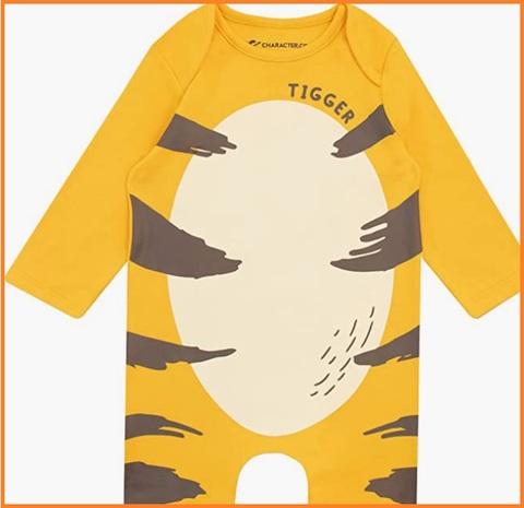 Costume di winnie the pooh per bambini piccoli