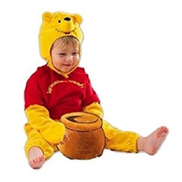 Costume di carnevale da winnie the pooh