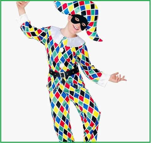 Costumi carnevale bambini arlecchino