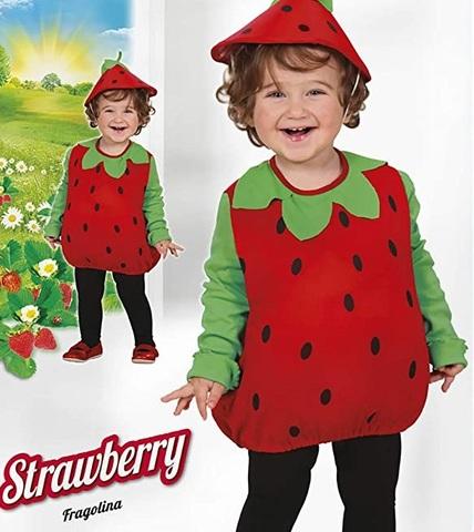 Costumi di carnevale per bambini frutta e verdura