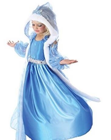Costumi carnevale bambini frozen