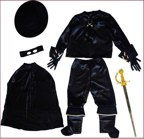 Costumi Di Carnevale Per Bambini Fai Da Te Zorro