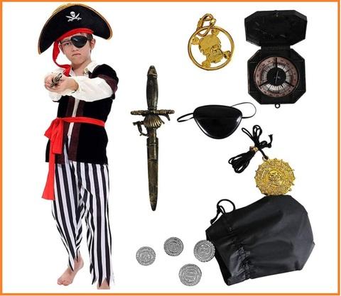 Costumi carnevale bambini fai da te pirata