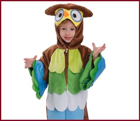 Costumi Carnevale Bambini Gufo