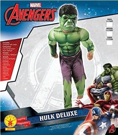 Costumi carnevale bambini hulk