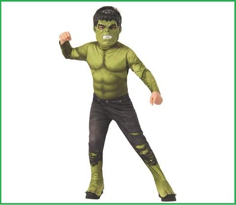 Vestiti Carnevale Bambini Hulk