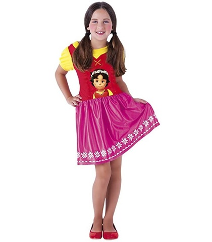 Vestito carnevale heidi bambina