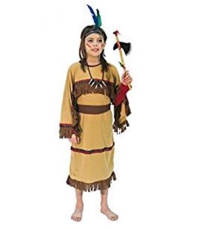 Vestiti di carnevale per bambini indiano  4fe01e5245c
