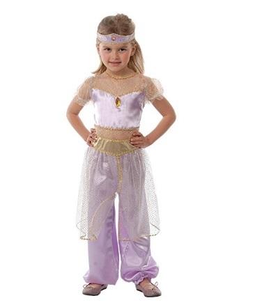 Vestito carnevale jasmine bambina