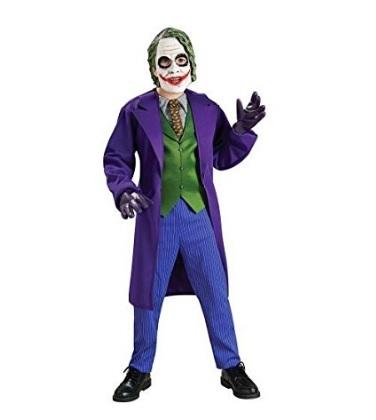 Vestito carnevale joker bambino