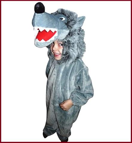 Costumi carnevale bambini lupo