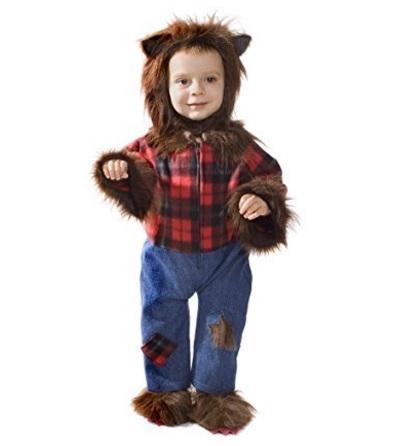 Vestiti carnevale bambini lupo