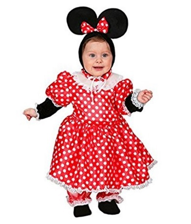 Costumi di carnevale per bambini minnie