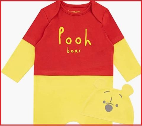 Costume carnevale neonati winnie the pooh