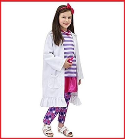 Costume carnevale dottoressa peluche