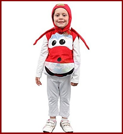 Costume carnevale super wings