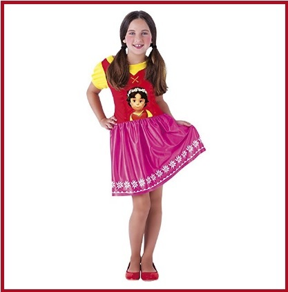 Costume Carnevale Heidi Bambina