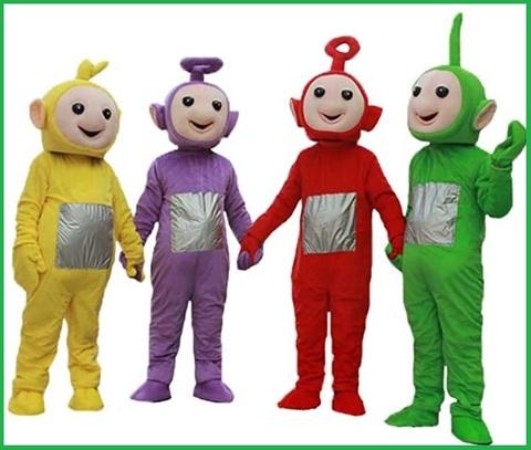 Teletubbies costume bambino