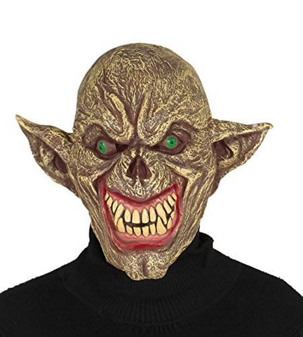 Halloween maschere mostro alieno in gomma