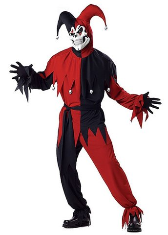 Costume di halloween joker