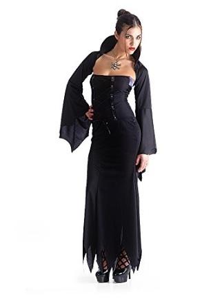 Costume da donna per halloween da contessa vampiro