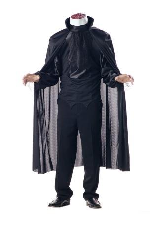 Travestimento per halloween uomo fantasma senza testa