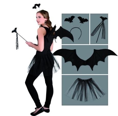Costume simpatico per halloween per ragazza