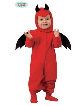 Costume di halloween da diavoletto per neonati