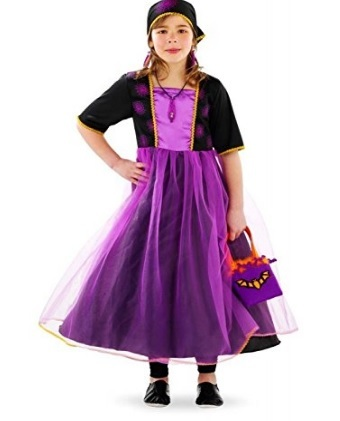 Costumi halloween bambina 10 anni