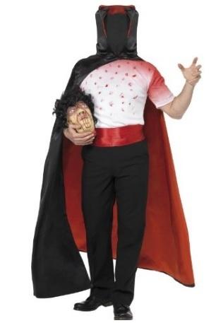 Costume Halloween Uomo Senza Testa Fai Da Te