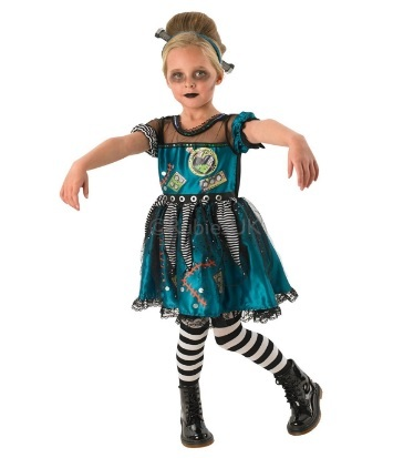 Halloween costume zombie girl