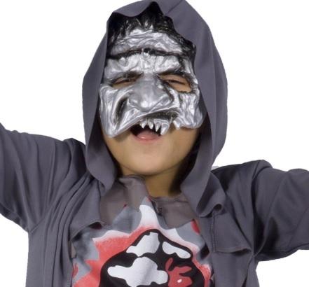 Costume halloween zombie bambino
