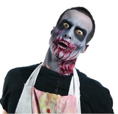 Trucco halloween zombie