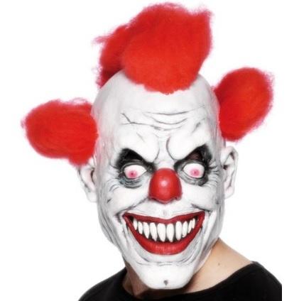Maschere halloween clown