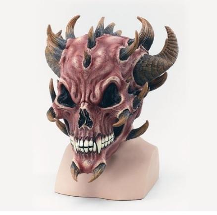 Maschere halloween diavolo