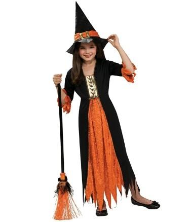 Costumi halloween bambini strega