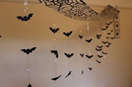 Halloween poster e decorazioni pipistrelli