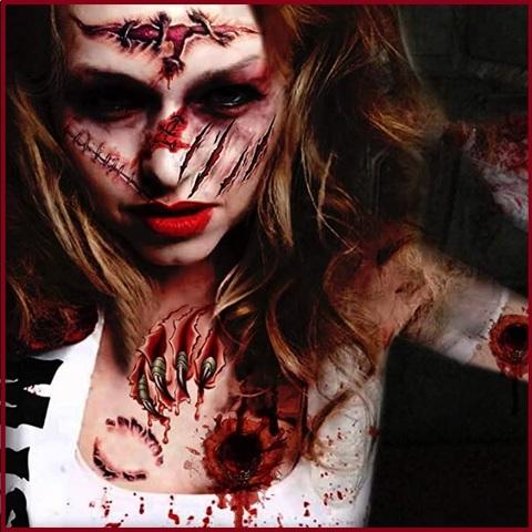 Cicatrici adesive per il corpo