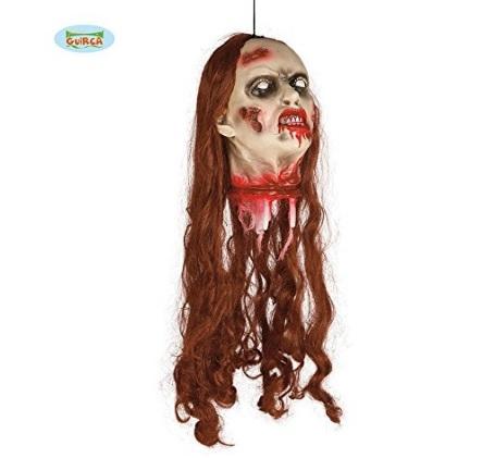 Testa di zombie per decorare la casa