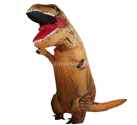 Costume gonfiabile grande t rex