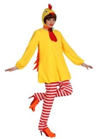 Costume da pollo per halloween