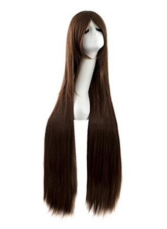 Parrucca lunga per la festa di halloween