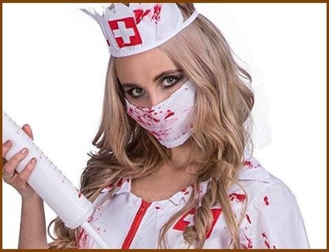 Costumi halloween donna infermiera