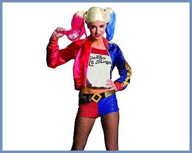 Costumi Halloween Ragazza Harley Quinn