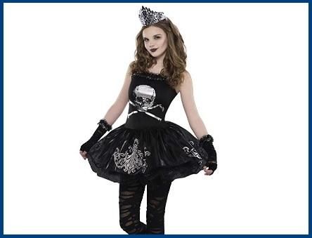Costumi halloween zombie ragazza